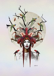 Keeper of the Forest by Matt Herring - Limited Edition on Board sized 24x36 inches. Available from Whitewall Galleries
