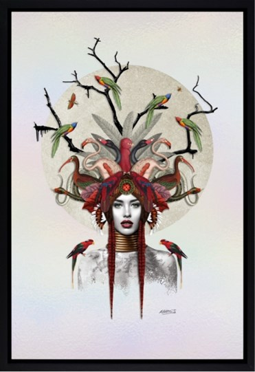 Keeper of the Forest by Matt Herring - Framed Limited Edition on Board